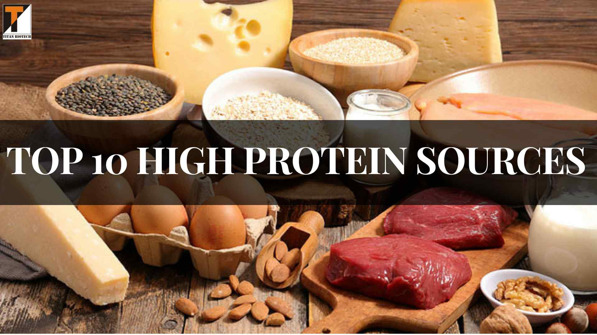 THE TOP 10 HIGH PROTEIN SOURCES